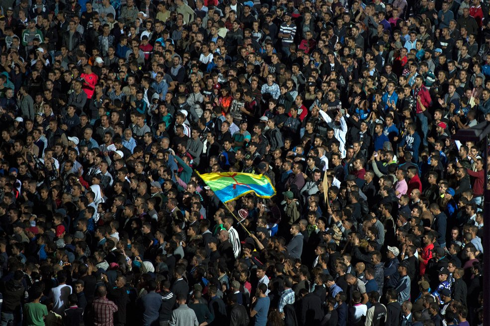 """Ángela Suárez-Collado has recently published the article '""""Le temps des cerises"""" in Rif: Analysis of a Year of Protests in NorthernMorocco'."""