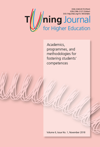 """Francisco Del Canto Viterale has recently published the article """"University as a global actor in the international system of the 21st Century"""" in Tuning Journal for HigherEducation."""