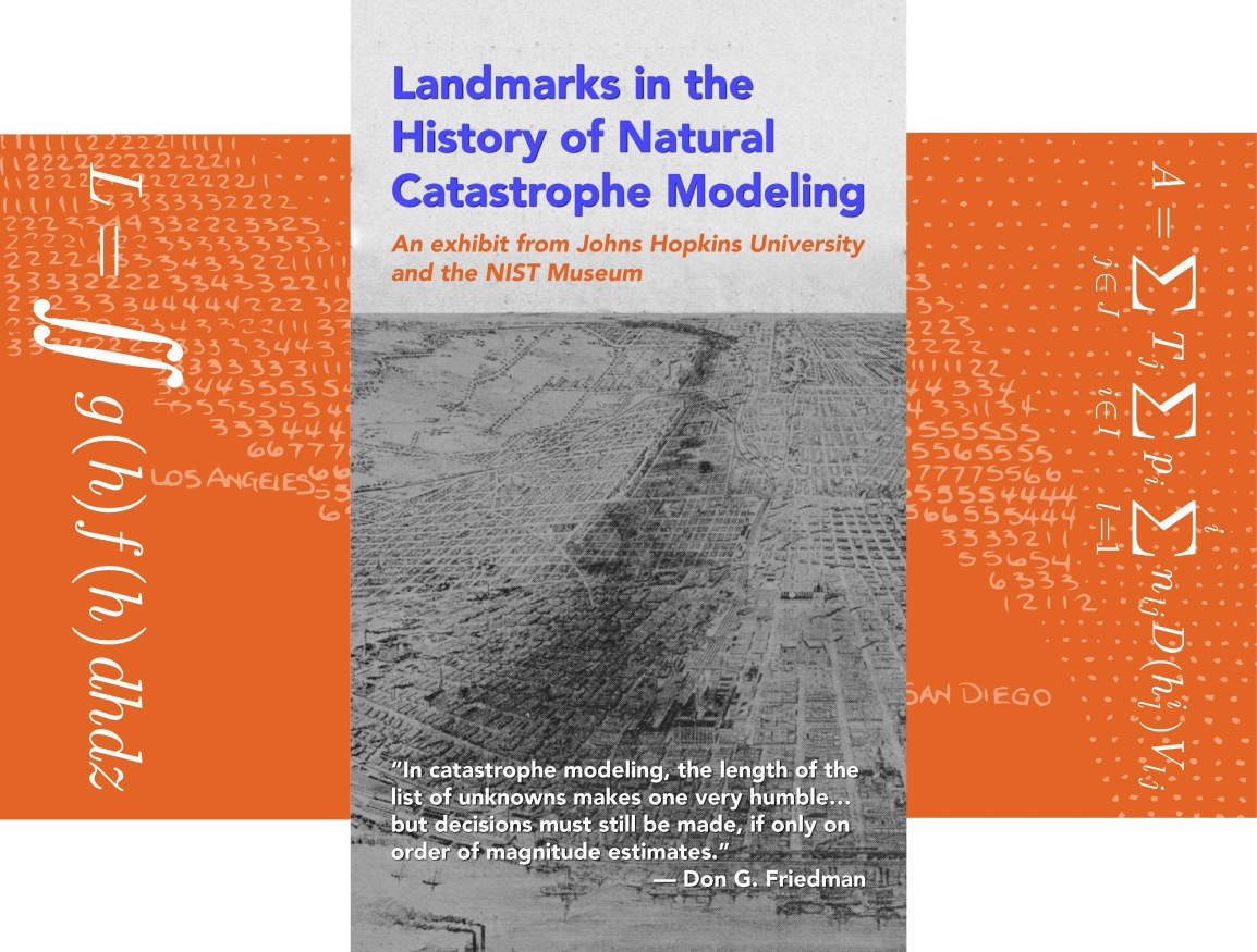 Landmarks in the History of Natural Catastrophe Modeling by Gonzalo Pita, the Sheridan Libraries, and the NISTMuseum