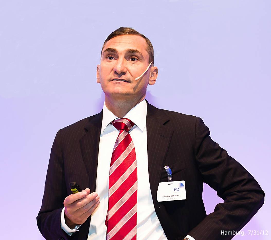 George Benaroya teaches Finance for MarketingDecisions