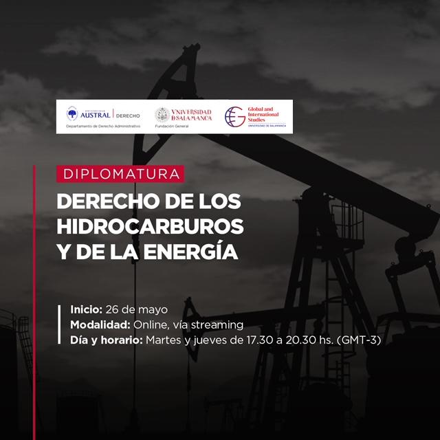 Diplomatura en Derecho de Hidrocarburos y de laEnergía